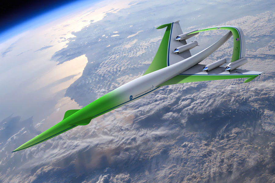 Avión conceptual: Supersonic Green Machine