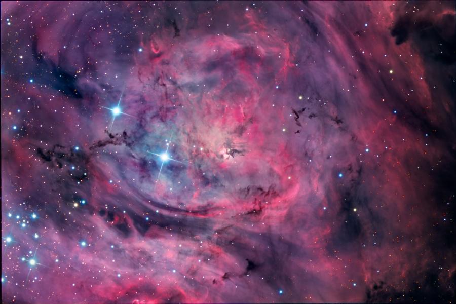 M8: la Nebulosa Laguna