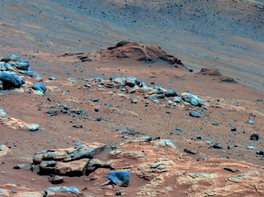 Výchoz Comanche na Marsu ukazuje vlídnou minulost