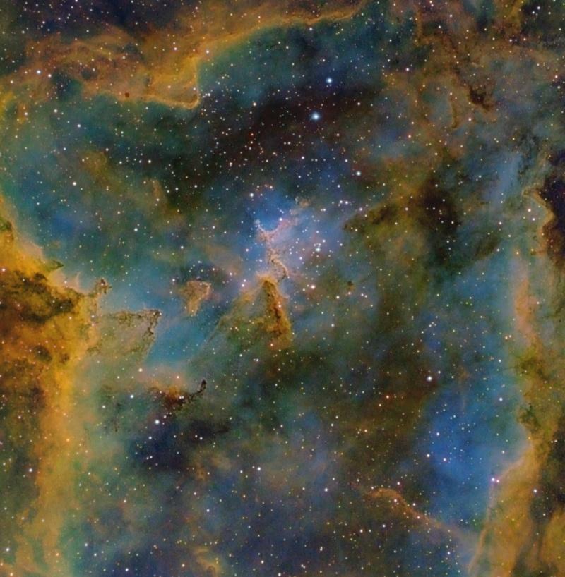 [摘译]每日天文一图 - 心脏星云中的梅洛特15星团(2010年9月25日) - 秋天的麦兜 - 蜗牛壳