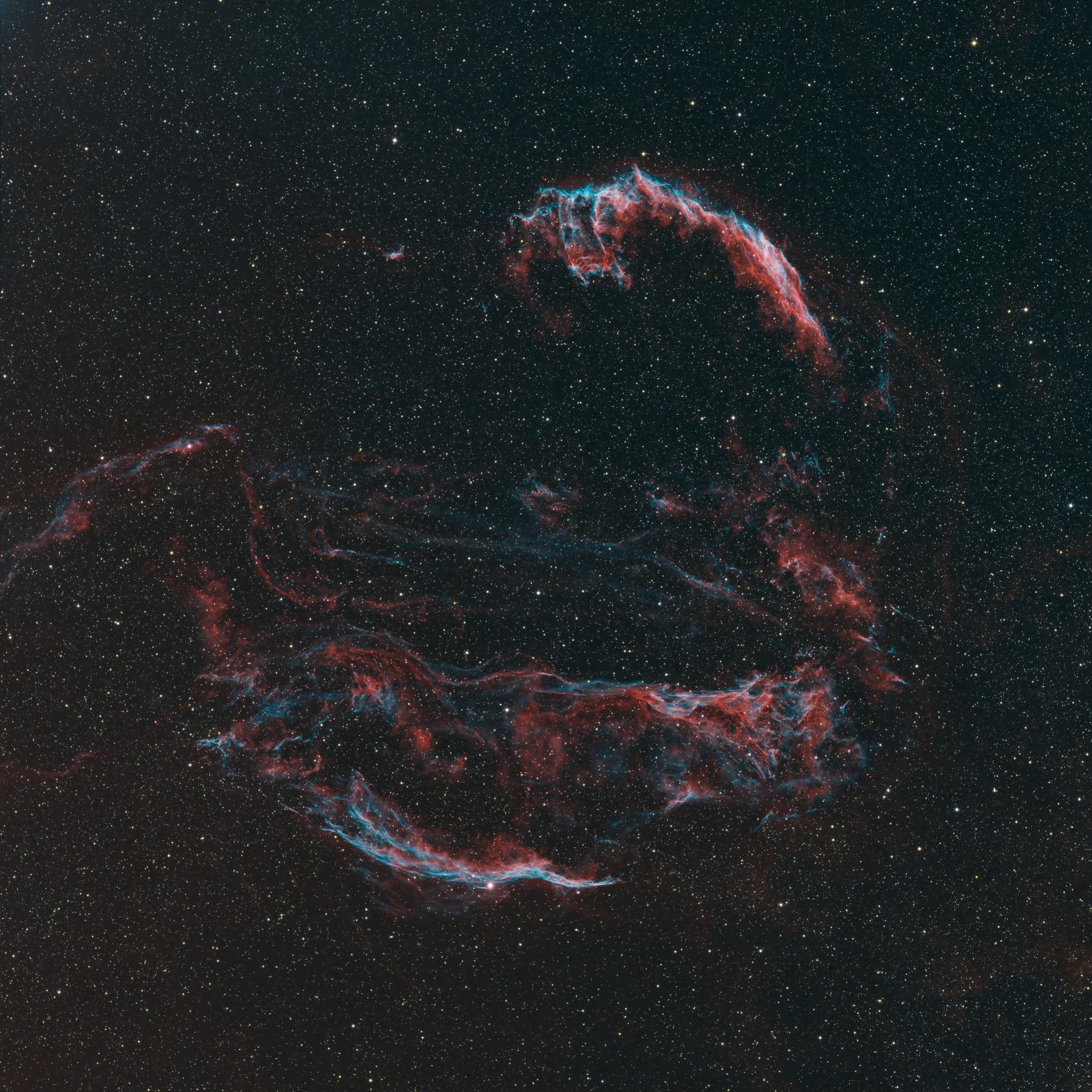 Apod 2010 September 16 The Veil Nebula