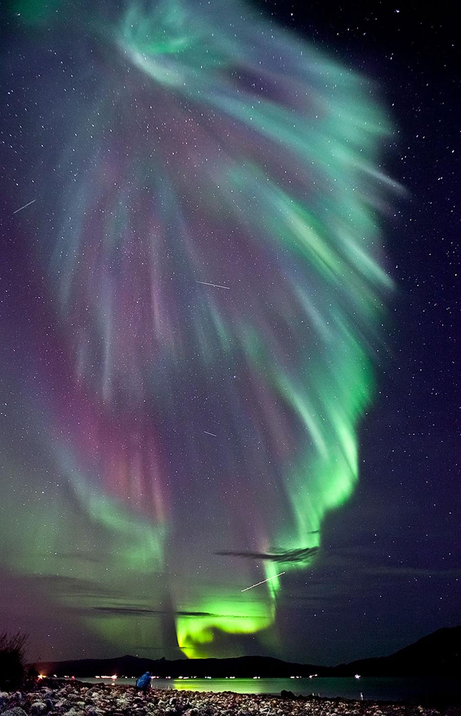Aurora sobre Noruega