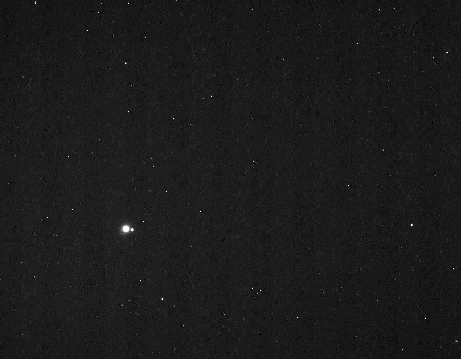 La Tierra y la Luna desde la MESSENGER