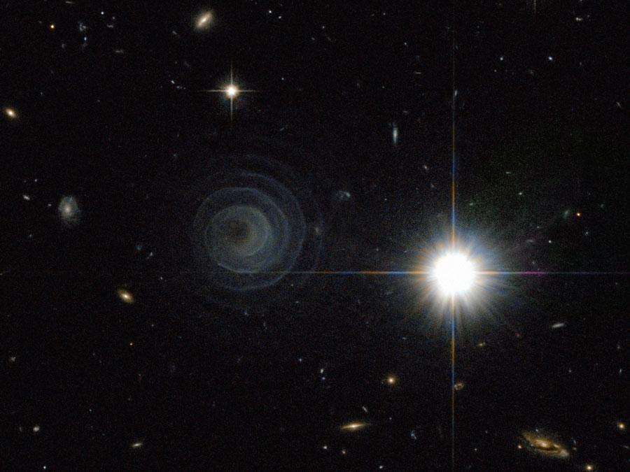 Una extraordinaria espiral desde LL Pegasi