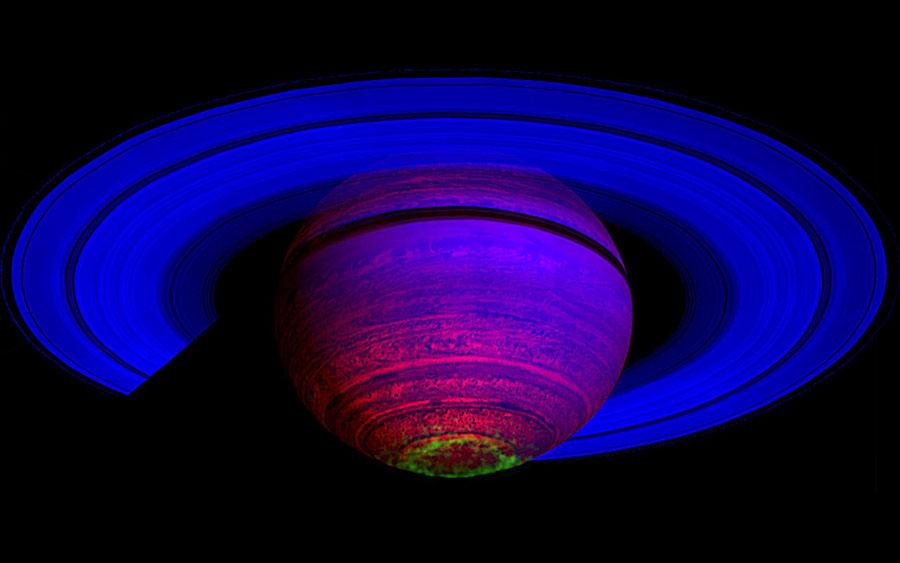 Las auroras danzantes de Saturno