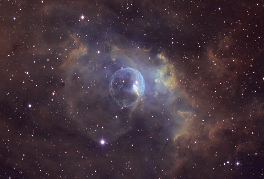La Nebulosa Burbuja