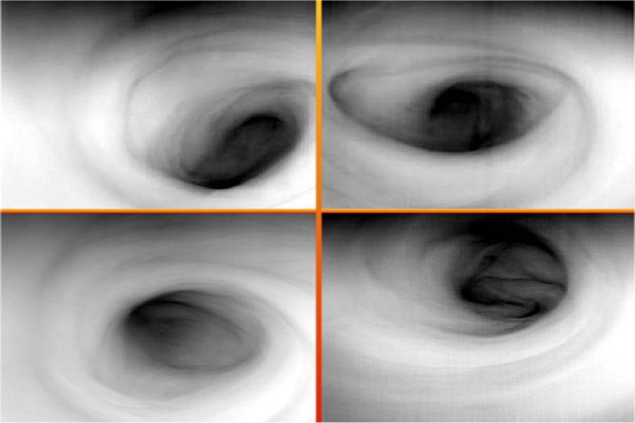 Vórtice del Polo Sur de Venus