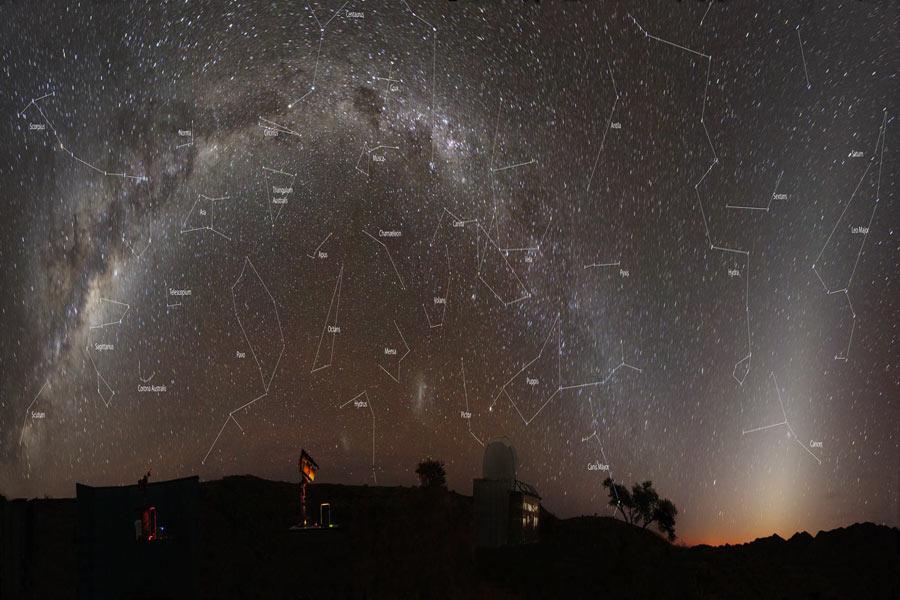 [摘译]每日天文一图 - 纳米比亚的黄道光(2010年9月13日) - 秋天的麦兜 - 蜗牛壳