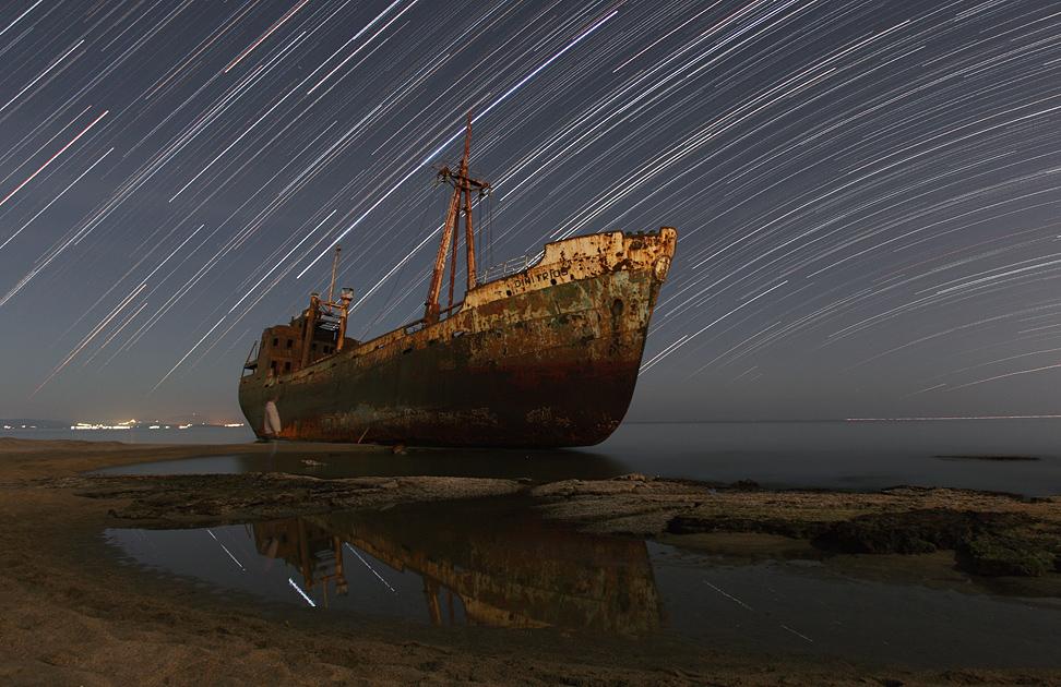 Rastros estelares y el fantasma del Capitán