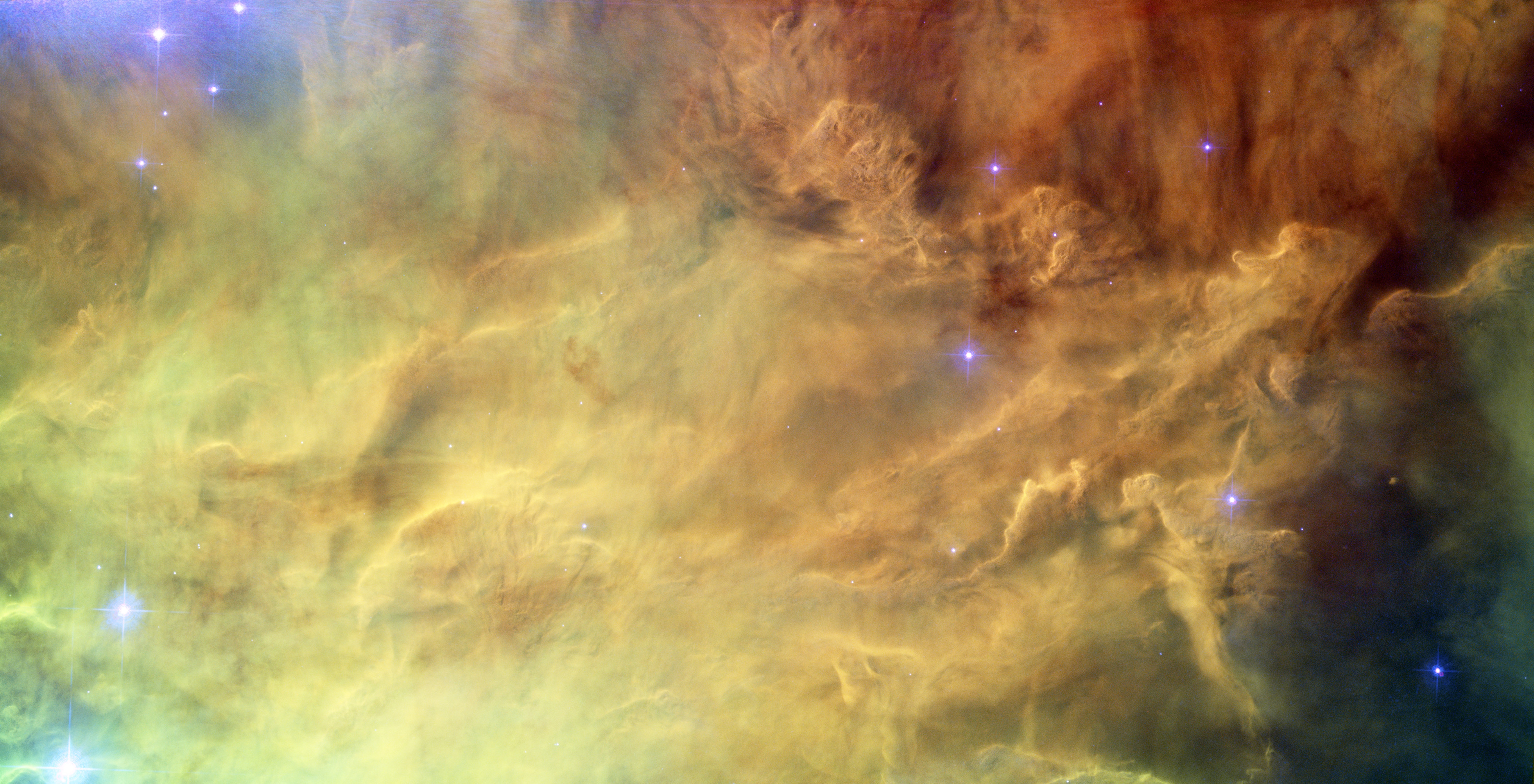 Hubble's Lagoon Credit: NASA, ESA, Hubble Space Telescope