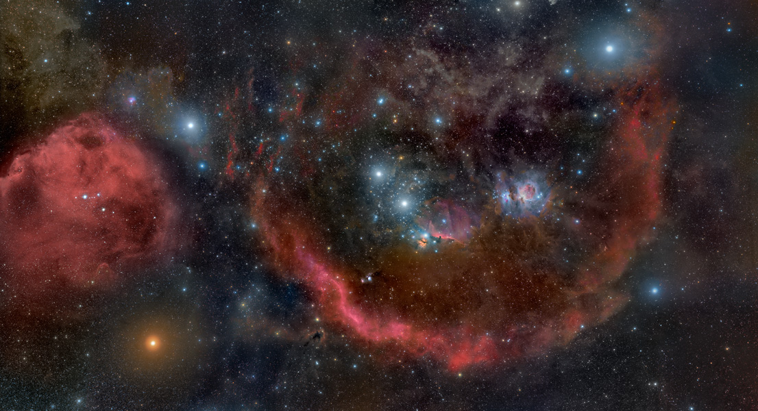 APOD: 2010 October 23 - Orion: Head to Toe