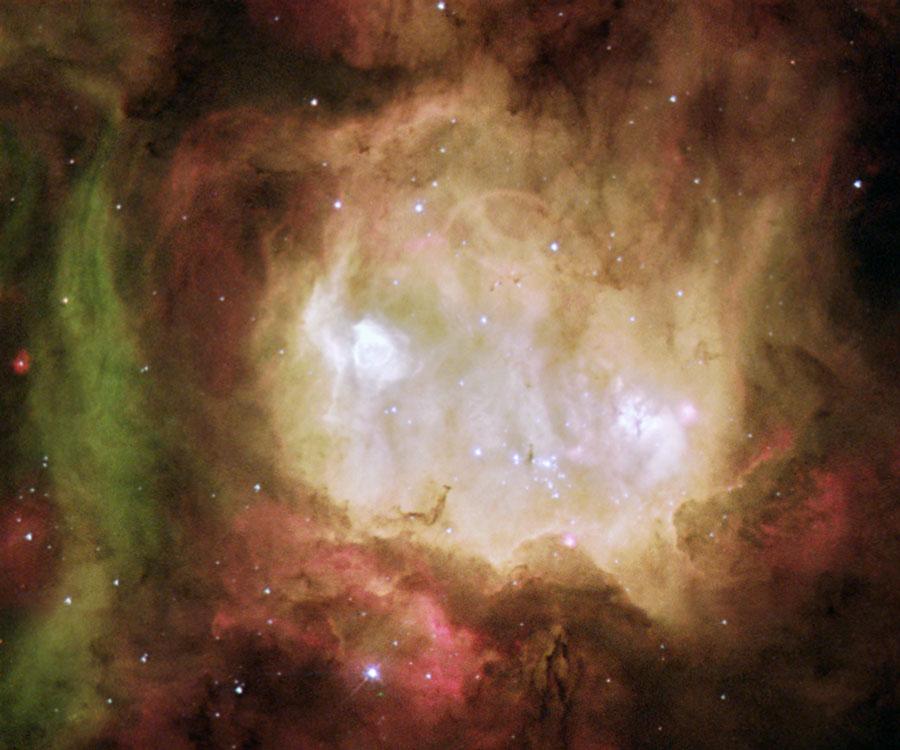 Halloween y la Nebulosa de la Cabeza del Fantasma