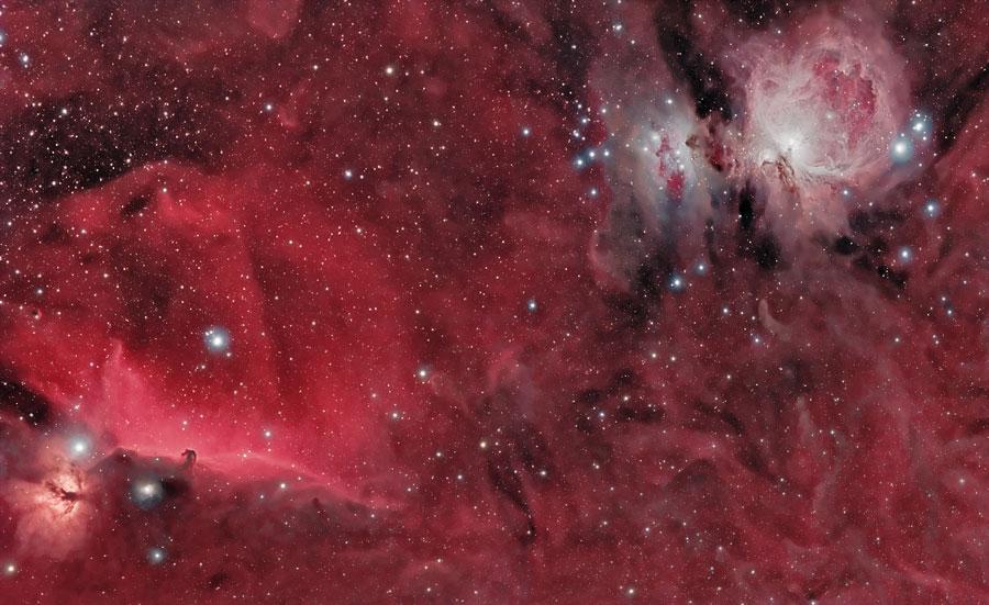 Cabeza de Caballo y las Nebulosas de Orión