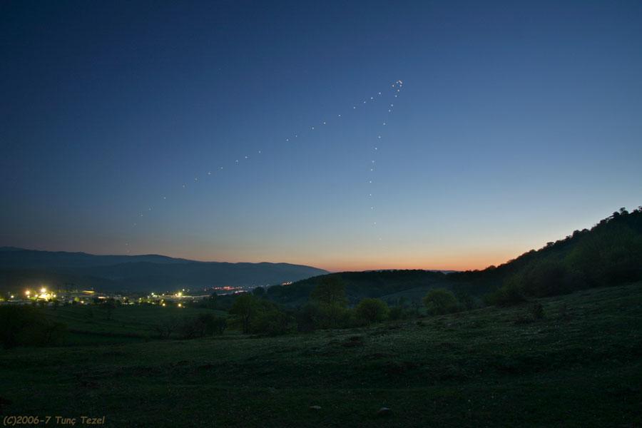Venus justo después de la puesta del Sol