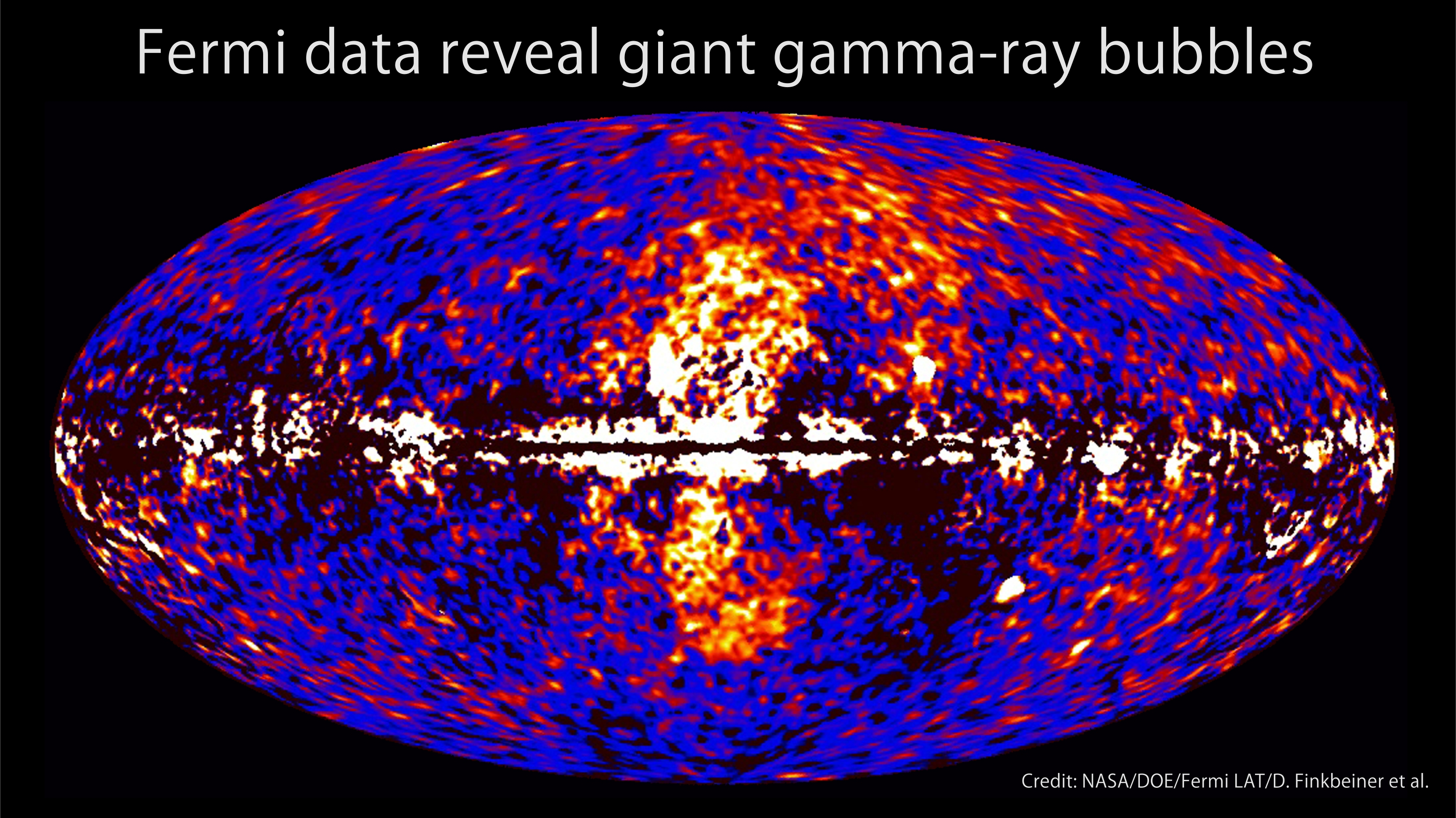 Huge Gamma Ray Bubbles Found Around Milky Way (NASA's Atronomy Picture of the Day - November 10, 2010)