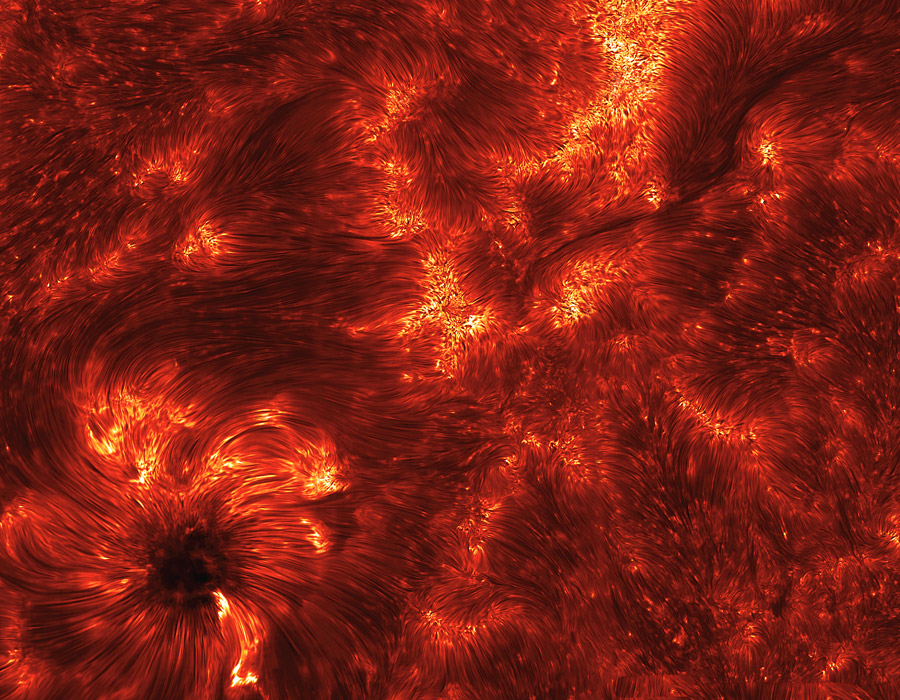 Espículas: Chorros en el Sol