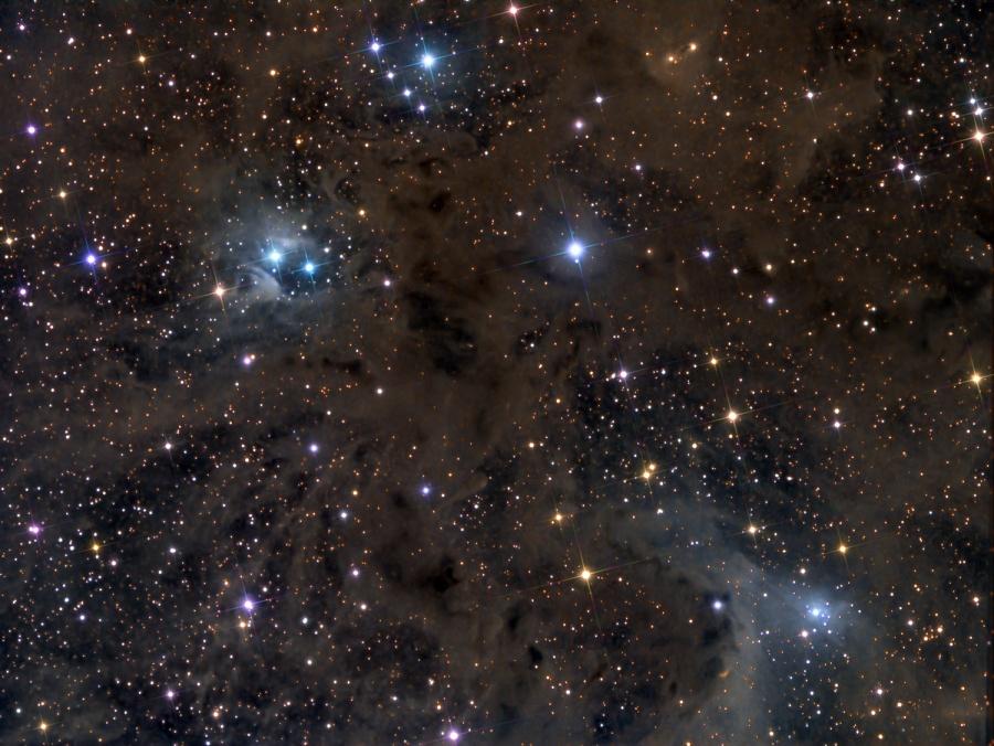 Polvo de estrellas en Aries