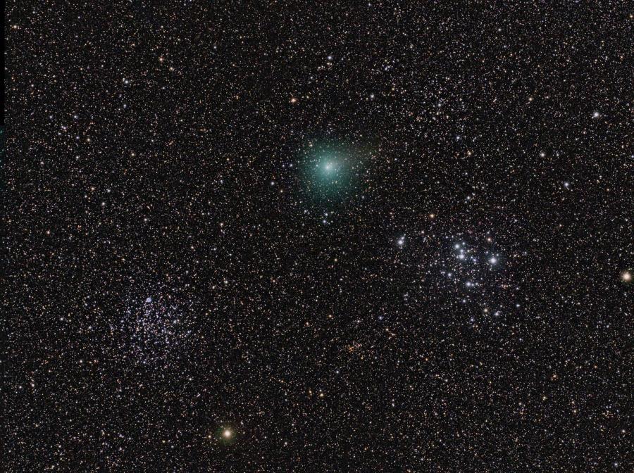 Gira por el cúmulo estelar de Hartley 2