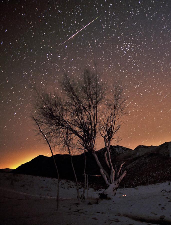 Un momento meteoro