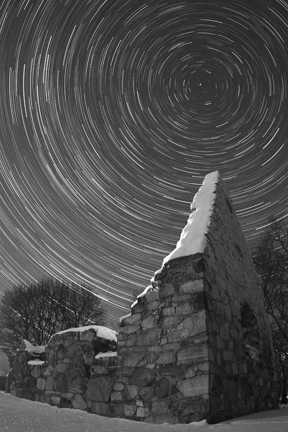 Rastros estelares en el norte