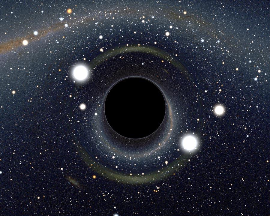 Demasiado cerca de un agujero negro