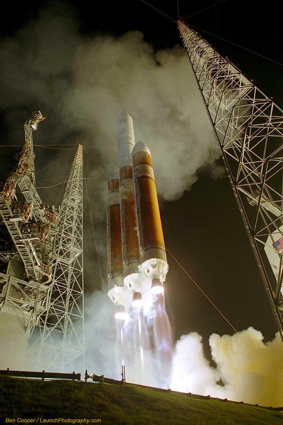 Lanzamiento de un Delta IV Heavy