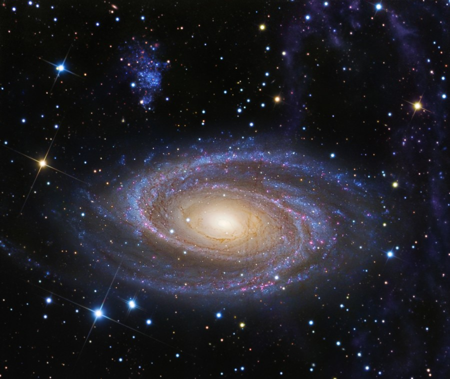 M81 y bucle de Arp