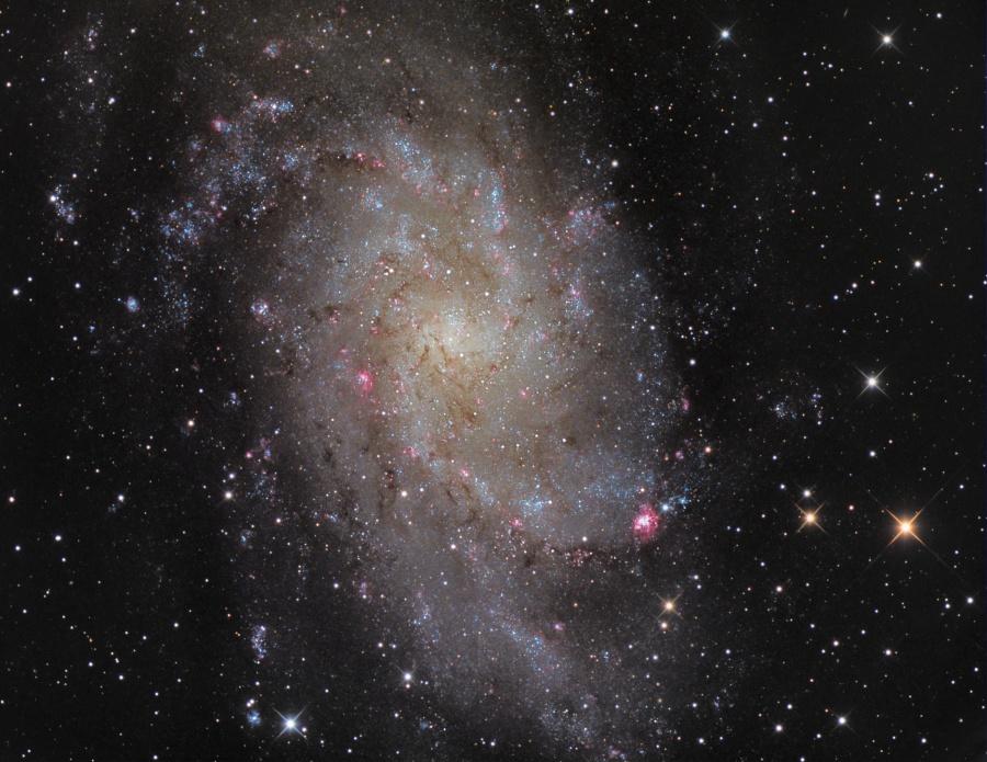M33: Galaxia del Triángulo
