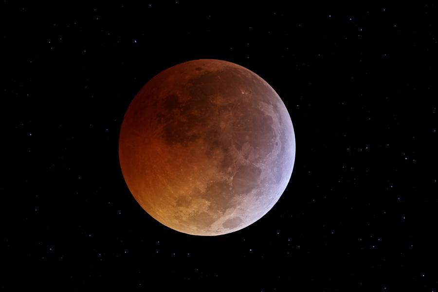 El eclipse lunar del solsticio