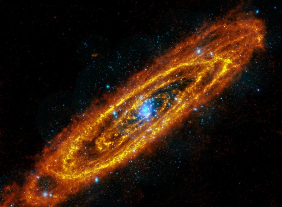 Las Antiguas y Futuras Estrellas de Andrómeda
