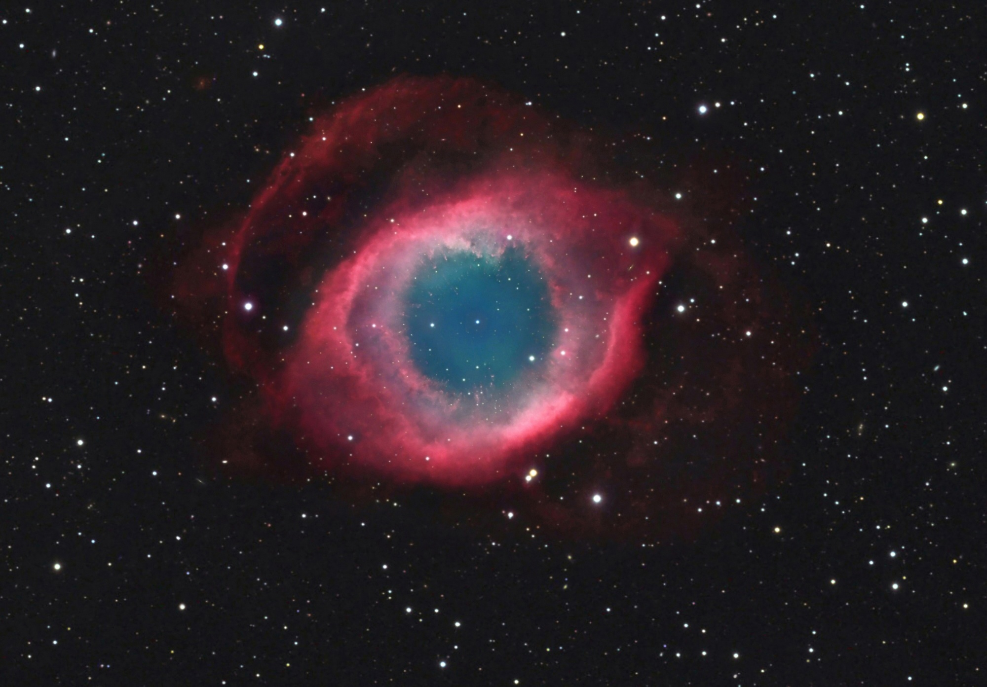 APOD: 2011 January 8 - NGC 7293: The Helix Nebula