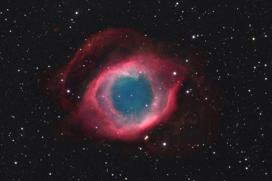 NGC 7293: La Nebulosa de la Hélice