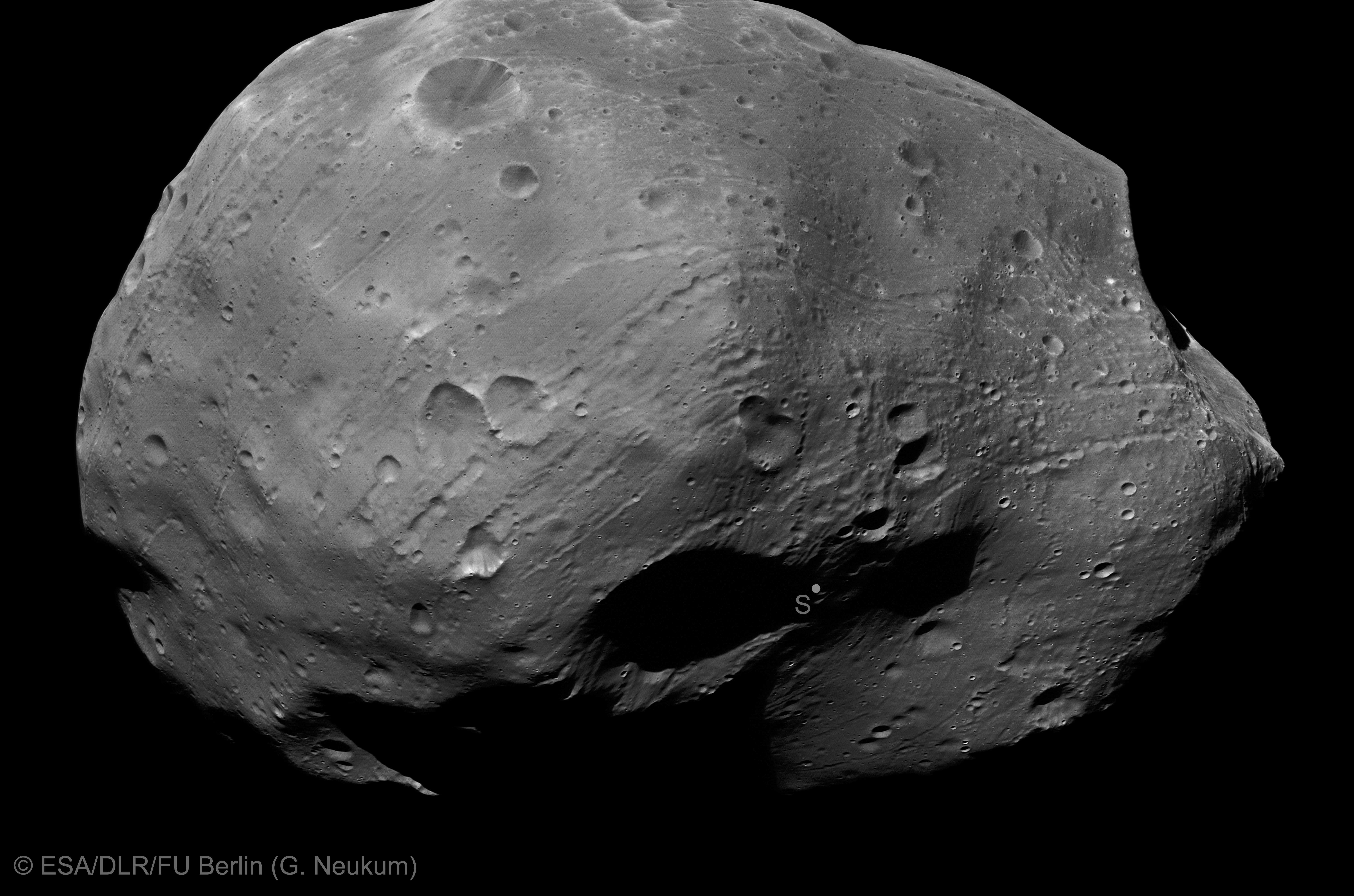 Mars Phobos From Mars View - Pics about space
