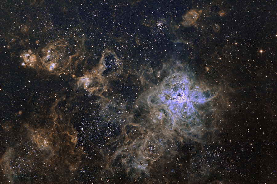 La Telaraña Cósmica de la Nebulosa Tarántula