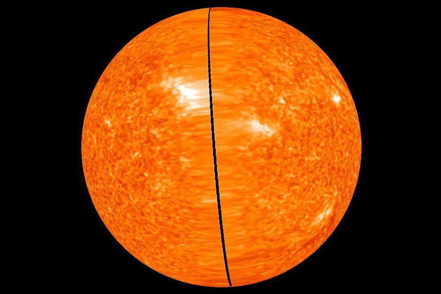Sol 360: STEREO captura la vista del Sol completo