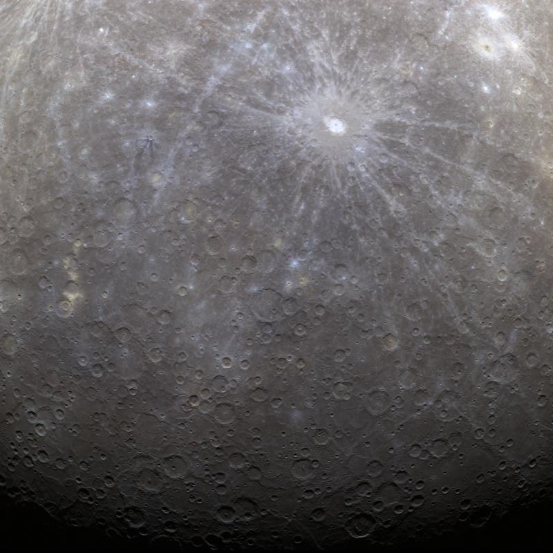 MESSENGER en Mercurio