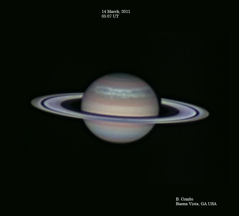 La Tormenta Serpiente de Saturno