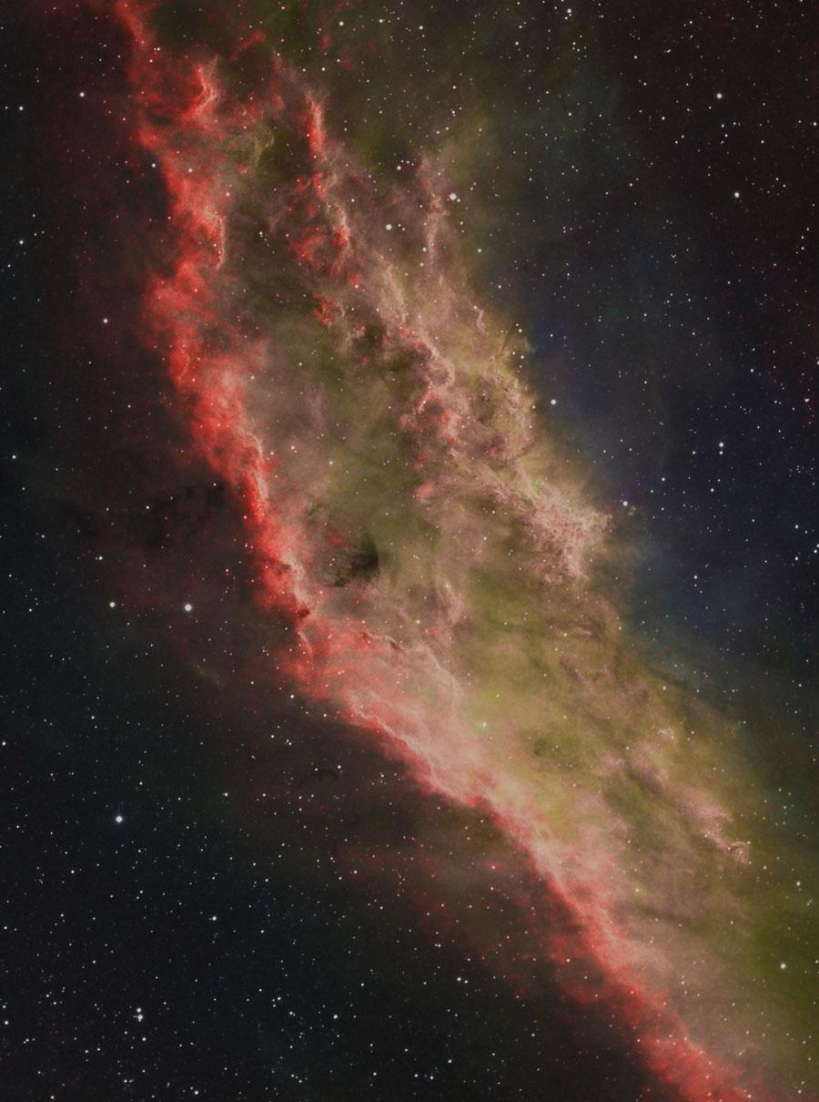 NGC 1499: la Nebulosa California