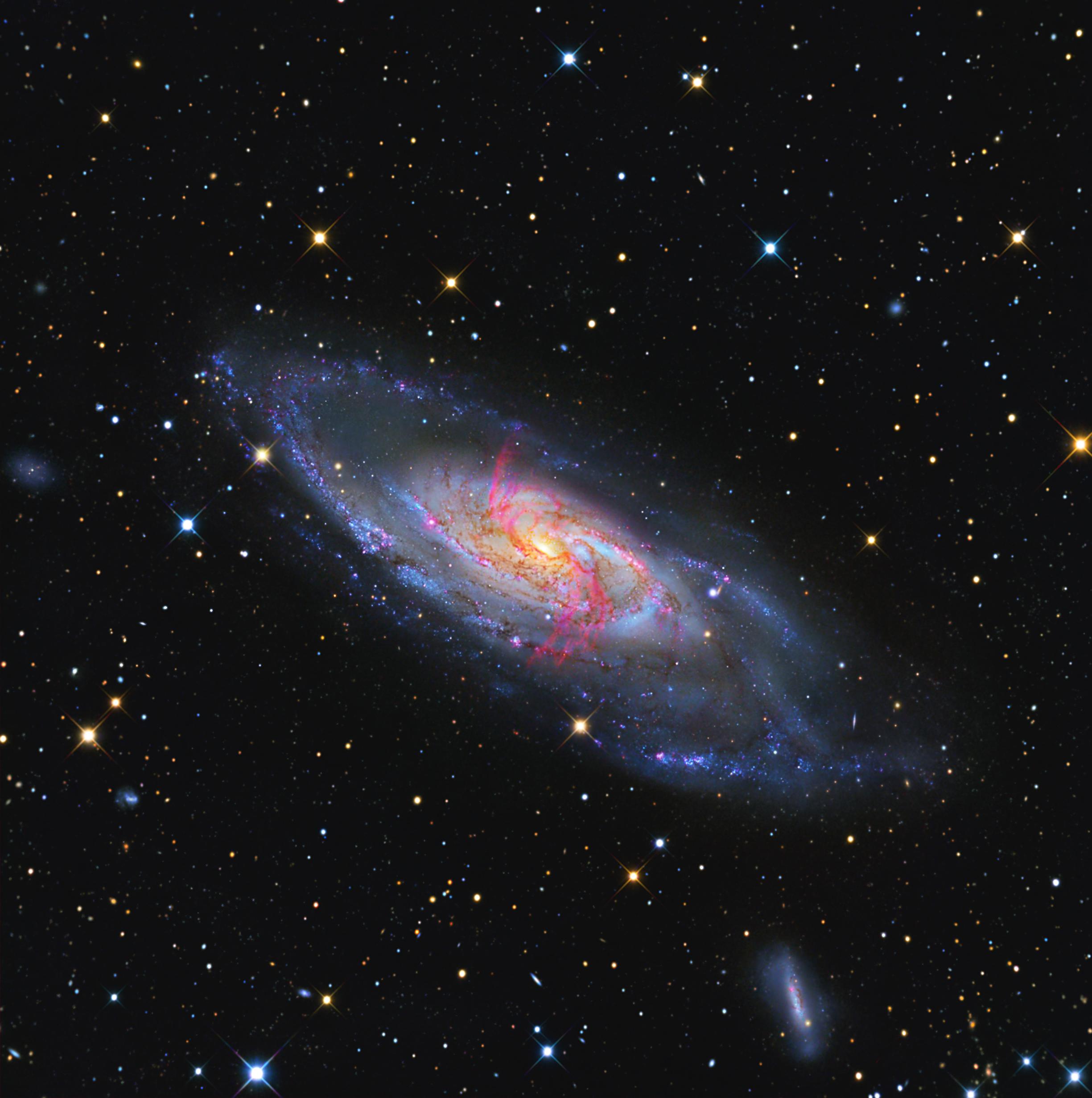 APOD: 2011 March 19 - Messier 106