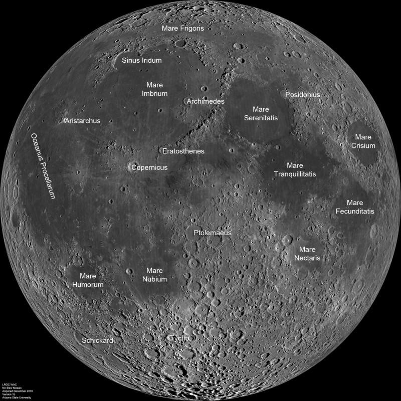 [摘译]每日天文一图 - 月球近地面(2011年3月3日) - 秋天的麦兜 - 蜗牛壳