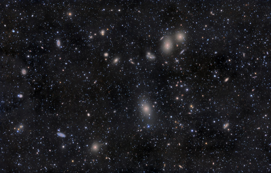 室女座星系团(2011年4月22日)- 每日天文一图摘译 - 秋天的麦兜 - 蜗牛壳