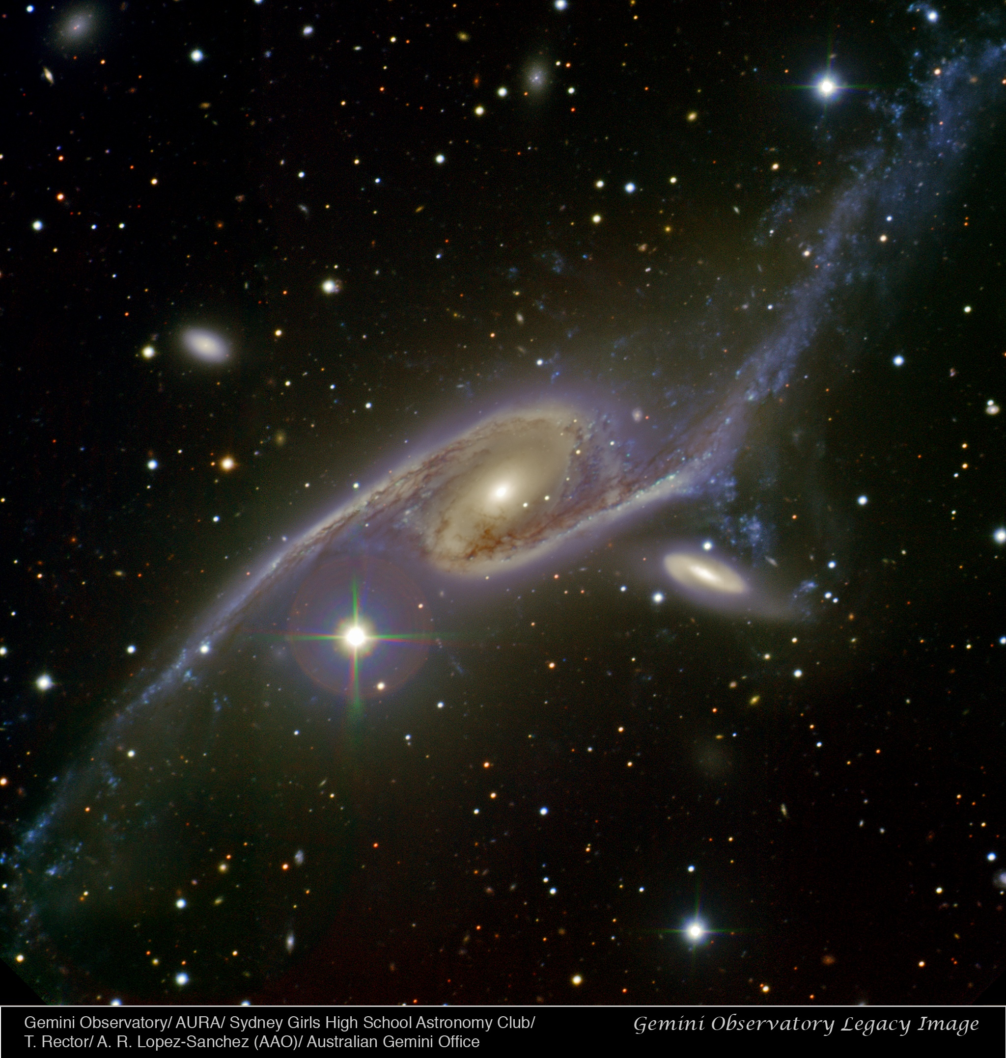 APOD: 2011 April 3 - Giant Galaxy NGC 6872