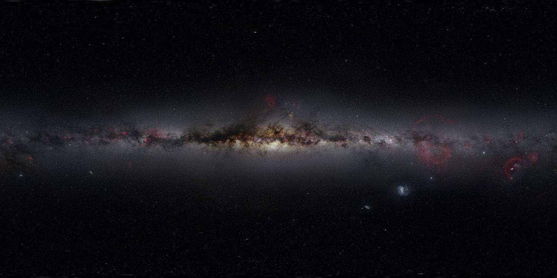 Un viaje a través del cielo nocturno