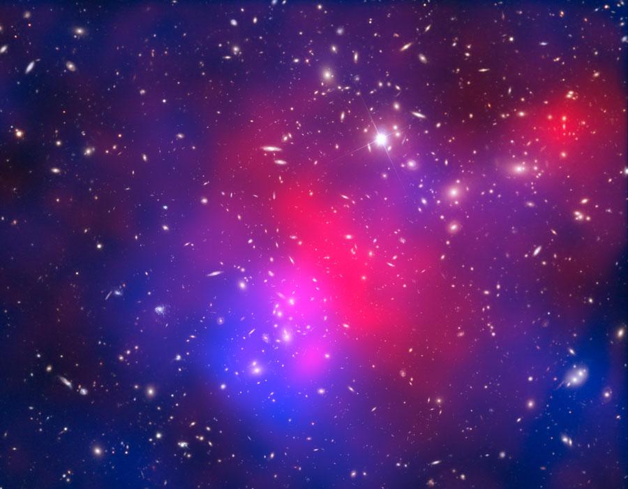 Abell 2744: Cúmulo de Galaxias de Pandora