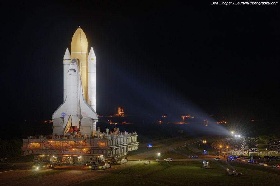 Último despliegue de un transbordador espacial de la NASA