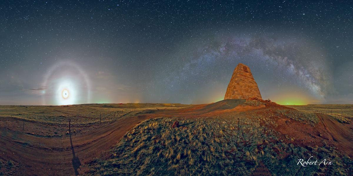 Campo de geometrias sobre Wyoming
