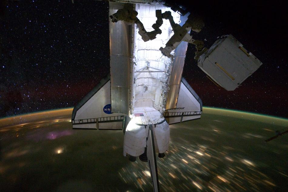 Noche estrellada del Endeavour