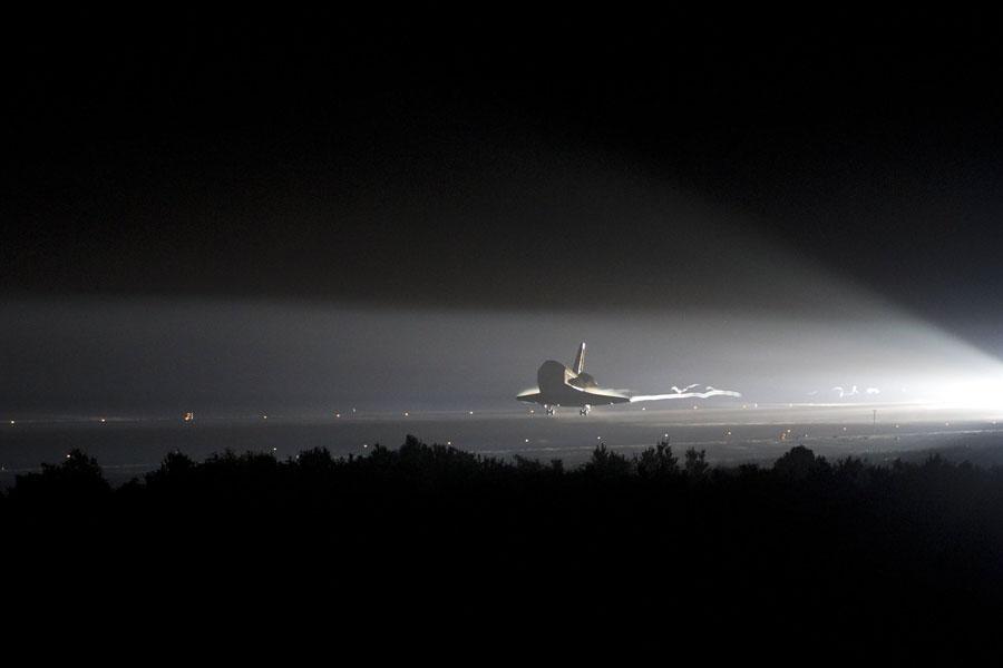 Un último aterrizaje para el Transbordador Espacial Endeavour