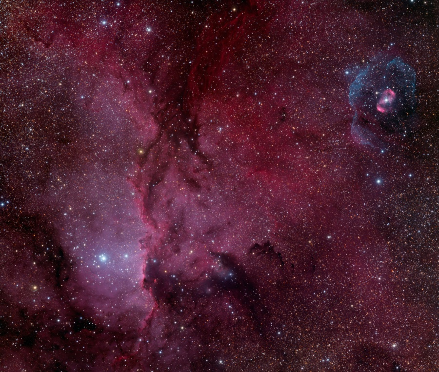 NGC 6188 y NGC 6164