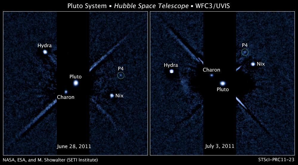 El P4 de Plutón